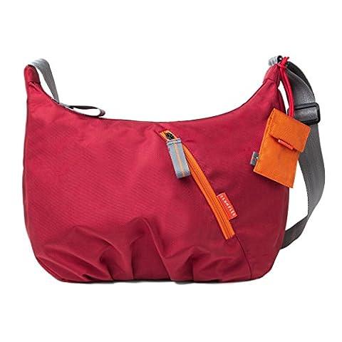 Crumpler DZPH-010 Doozie Photo Hobo Kameratasche mit herausnehmbarem Einsatz rot/orange