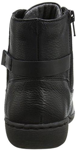 Clarks Fianna Tara Boot Black Wlined Leather