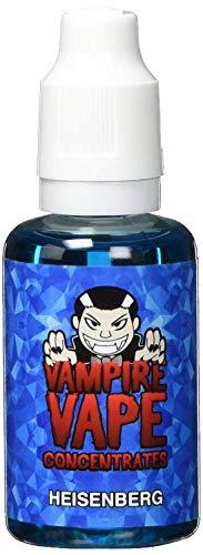 Vampire Vape Aromakonzentrat Heisenberg, zum Mischen mit Basisliquid für e-Liquid, 0,0 mg Nikotin, 30 ml (Diy Box Mod)