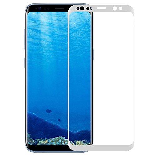 Edhua Für Samsung Galaxy S8+ 3d Curved Hartglas Displayschutz Ultradünn Crystal Clarity 9H Härte kratzfest (Ausrichtung Ziel)