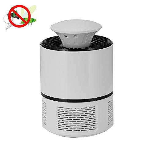 Moskito-Lampe SHUAKFDLed Moskito-Kontrolllampe Moskito-Mörder-Lampe USB-Anti-Moskito-Wanzen-Reißverschluss Stille Moskito-Falle für Schlafzimmer im Freien Insekten-Mörder-Gebrauch-Art 1 Weiß 2135 Usb
