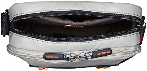Hedgren  Passage, Borsa Messenger  Adulti Light Grey/Dark Blue