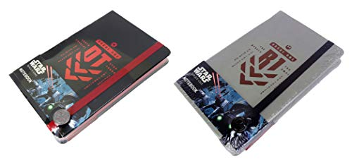 Star Wars Rogue One Premium Notizbuch, A5, geprägt, Motiv: Death Star Special Force and The Rebels