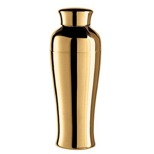 Oggi vergoldet Spiegel Finish hoch & Slim Cocktail Shaker, 0,75l/26oz, Titan Oggi Shaker