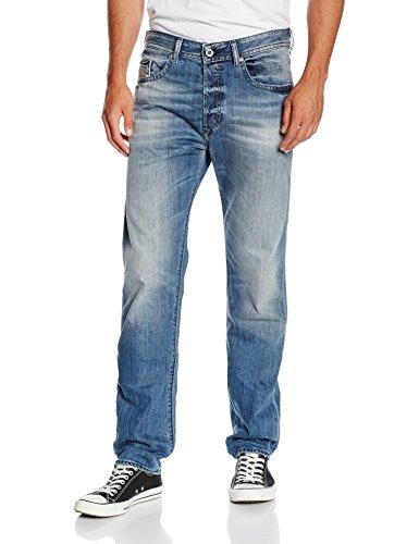 Diesel Buster Pantaloni, Blu Uomo, Blau (01), W30/L34