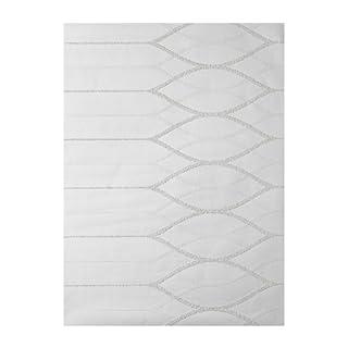 Patent Decor 3D Tapete in weiß (zum Überstreichen) (Nr. 6009-4303)