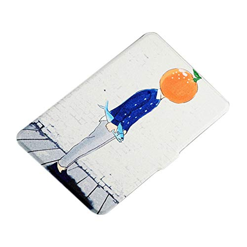 Dosige eBook Reader Sleeve Hülle Ultra Leightweight Schutzhülle Smart Cover für Kindle Paperwhite 2/3 Mr. Orange Muster