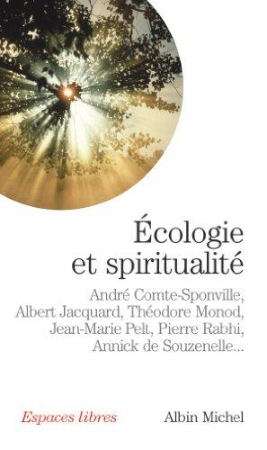 Ecologie et spiritualité (Espaces libres t. 169) par André Comte-Sponville