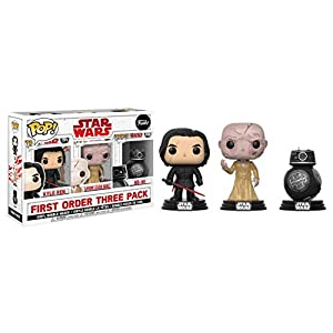 Set 3 Figuras Pop! Star Wars VIII The Last Jedi Bad Guys Exclusive