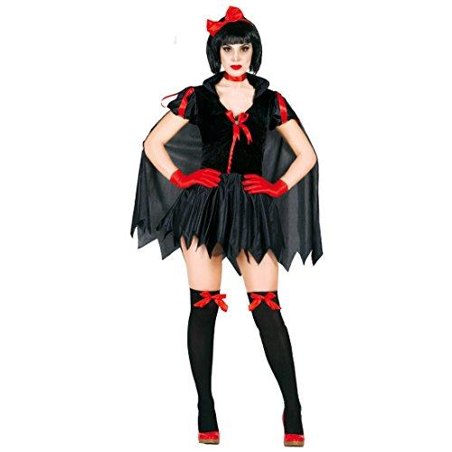 Amakando Damenkostüm Teufelin Dunkle Fee Kostüm M