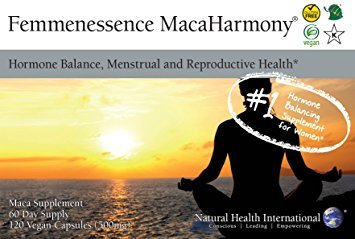 Natural Health International Femmenessence MacaHarmony (500mg, 120 Vegan Capsules) from Natural Health International