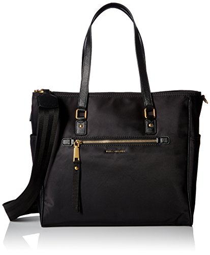 Marc Jacobs Trooper Babybag - Borse a mano Donna, Black, 44x33x15 cm (W x H L)
