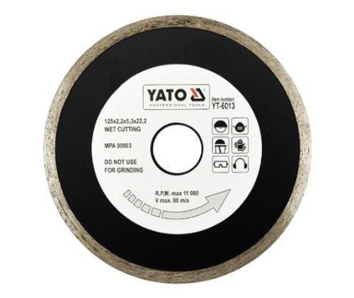 YATO YT-6013 - ANILLO CONTINUO DISCO DE DIAMANTE - ES DE 125 MM