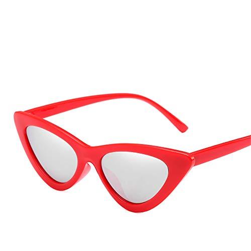 DURIAN MANGO Herren- und Damen-Sonnenbrillen Fashion Triangle Transparent Cat's Eye Sunshade,style6