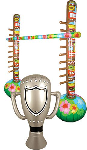 fblasbares Limbo Bar Game & Champion Trophäe Party Supplies ()
