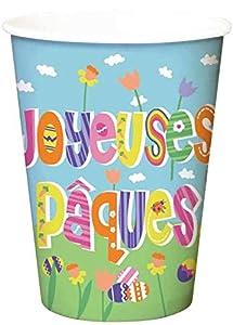 Dynastrib Pascua vasos 4017235, multicolor, 25cl