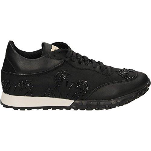 TWIN SET , Chaussures de sport d'extérieur pour femme noir noir 36 EU Noir