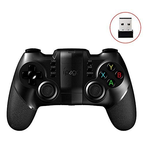 ZOMTOP Ipega PG-9076 PG 9076 Gamepad Bluetooth Game Controller 2.4G Ricevitore Wireless Joystick Android iOS Console di Gioco Player