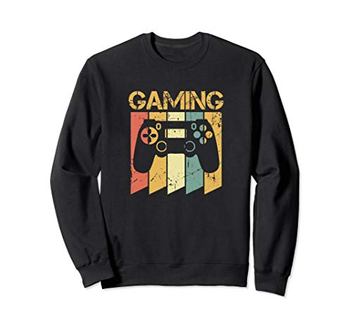 Vintage Gaming Oberteil für Retro Gamer Sweatshirt - Retro-gaming-pullover