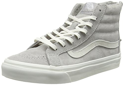 vans-unisex-erwachsene-sk8-hi-slim-zip-high-top-grau-scotchgard-cool-grey-blanc-de-blanc-405-eu