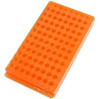 Naranja de polipropileno doble Centrífuga Sided soporte del tubo 96 Posiciones