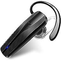 Auricular Bluetooth, rapidtronic estéreo inalámbrico auriculares con micrófono manos libres, para seguridad conducir, correr, deportes, compatible con Wileyfox LG iPhone Samsung Nokia smartphone y cuadros