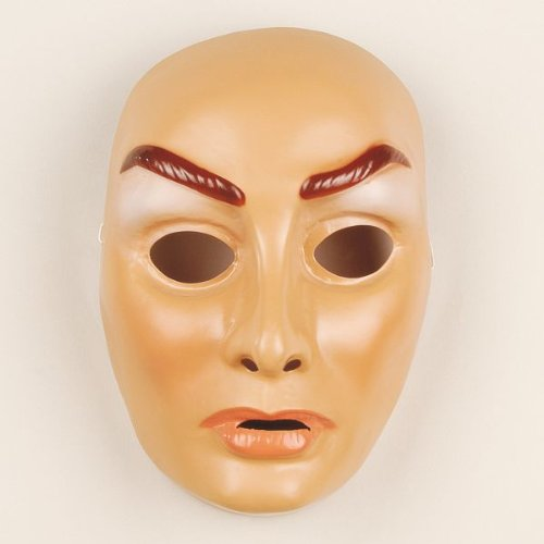Festartikel Müller Gesichtsmaske Junge Frau Maske Gesicht Karneval Fasching Halloween