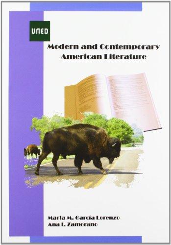 Modern and contemporary american literature (GRADO) por María Magdalena GARCÍA LORENZO