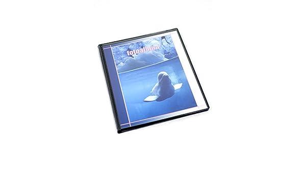 Album foto salvaspazio a tasche 10x15 cm per 80 foto 2 foto per pagina nera