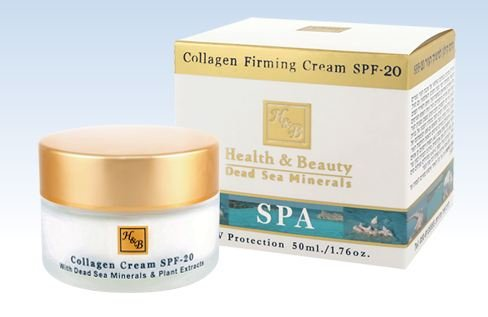 hb-health-beauty-collagen-firming-cream-spf-20-vitamins-a-c-e-and-active-dead-sea-minerals-50ml-by-h