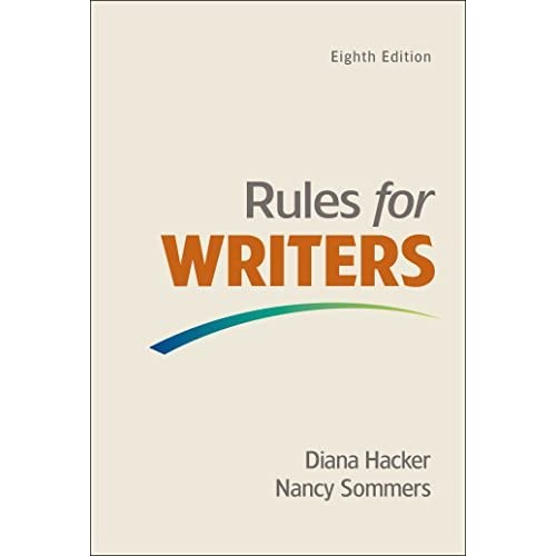 Rules for Writers with Writing about Literature (Tabbed Version) by Diana Hacker (2015-11-11)