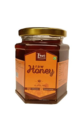True Elements Organic Honey (organic Raw Honey)350g