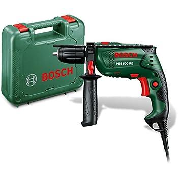 Bosch PSB 500 RE Trapano Battente Compact Easy