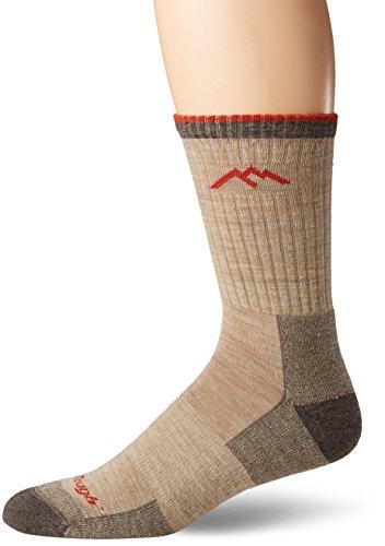 Darn Tough Hiker Micro Crew Herren Socken XL Hellbeige (Vermont Aus Socken)