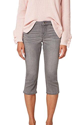 edc by ESPRIT Damen Slim Jeans 038CC1B009, Grau (Grey Light Wash 923), 29