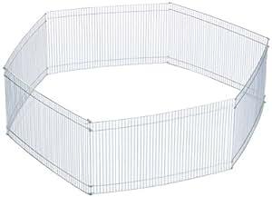 Trixie 6249 Freilaufgehege für Kleintiere, 6 Teile, verzinkt, 6 Elemente