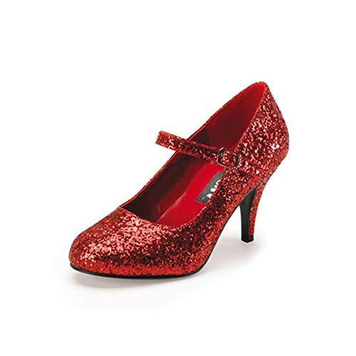 Higher-Heels Funtasma Dorothys Glitzerschuhe Glinda-50G Glitter rot Gr. ()