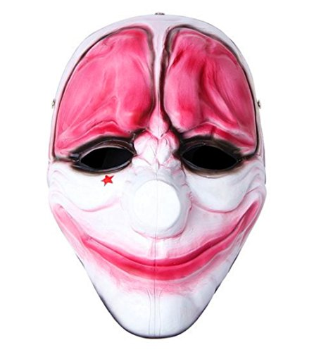 Kostüm Hoxton Payday 2 - ytm OM(TM) Payday 2 Hoxton-Maske aus Kunstharz, Nachbildung - - 1