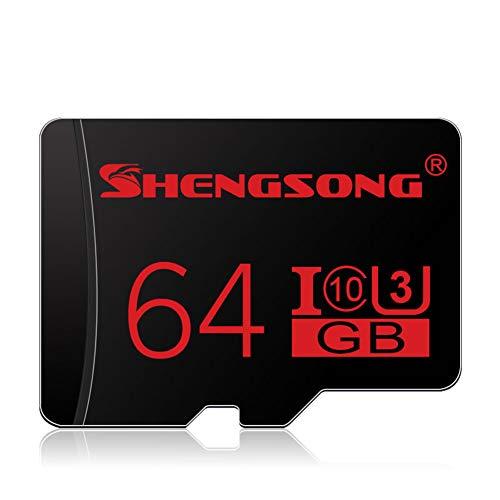 JYL Microsd Flash speicherkarte, Micro sd speicherkarte 4 gb / 8 gb / 16 gb / 32 gb / 64 gb / 128 gb klasse 10 memori Micro sd Karte für Smartphone Tablet Flash Karte,C -