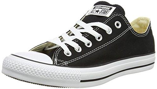 Converse All Star Hi Unisex Sneaker, Schwarz - Black Monochrome - Größe: 36 EU B(M) Mujer/35,5 EU D(M) Hombre