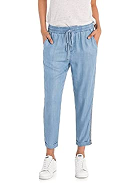 Salsa Pantalones de Denim Ligero