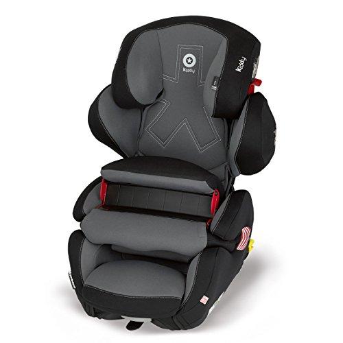 Preisvergleich Produktbild Kiddy Kaboosh 41551GF068 Guardianfix Pro 2 Autositz, Fangkörpersystem, ISOFIX, Gruppe 1/2/3 (9-36 kg, ca. 9 Monate-ca. 12 Jahre), Singapore (dunkelgrau)