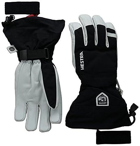 Hestra Heli Ski Glove, Black, 8