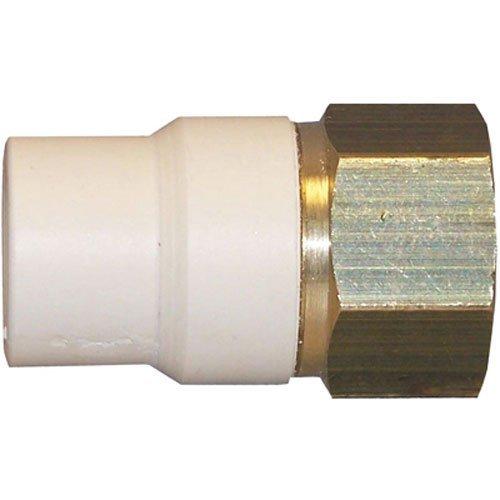 Cpvc-material (Genova Produkte 57907z 3/10,2cm CPVC Übergangs-Adapter)