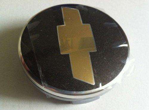 Chevrolet Kreuz schwarz chrom Rad Center Hub Cap 4rauscheiben Set für 200620072008200920102011Chevy Captiva