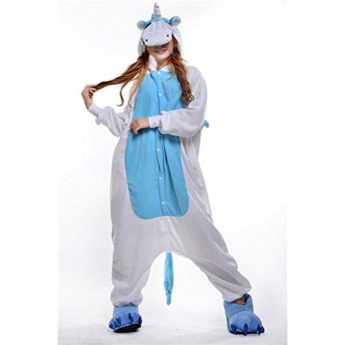 JT-Amigo Pyjama Combinaison Animaux Costume Déguisement Cosplay Adulte Femme Homme Licorne
