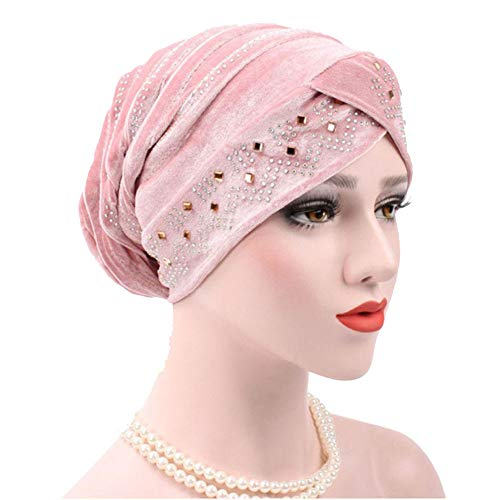 Novelty & Special Use Islamic Clothing 1pc Women Hijab Headwear Hair Loss Head Scarf Crystal Turban Cap Big Flower Muslim Cancer Chemo Hat Hair Accessories Hair Care