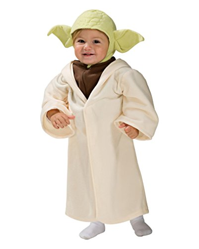 Für Kleinkinder Original Kostüme (Yoda Kleinkinder Kostüm)