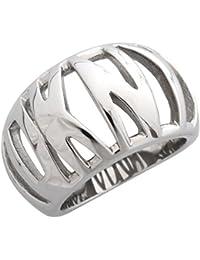 DKNY Damen Fingerring Edelstahl Silber NJ1575040
