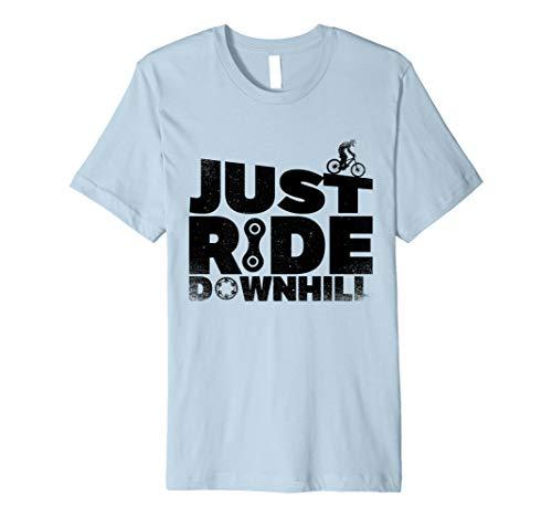 Gravity Mountain Bike MTB T-Shirt Just Ride Downhill